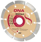 Диск алмазный DNA  GoldLine MONTOLIT LX125